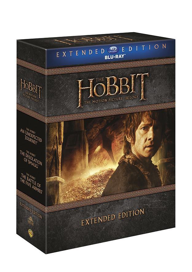 Hobit kolekce 1.-3. - prodloužené verze 9BD (Hobit 1 - 3) (Bluray)