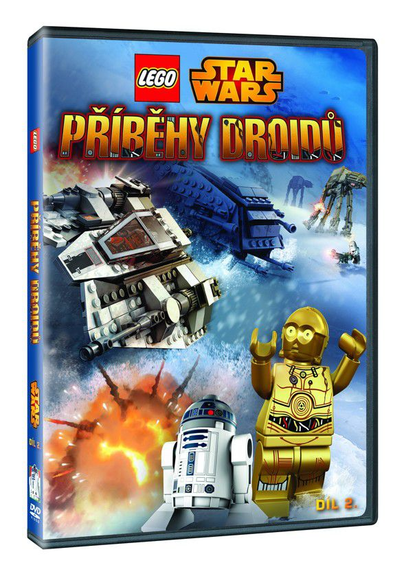 Lego Star Wars: Příběhy droidů 2 (DVD)