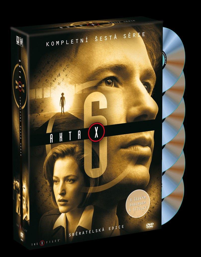 Akta X - 6. sezóna 6DVD SBĚRATELSKÁ EDICE (DVD)