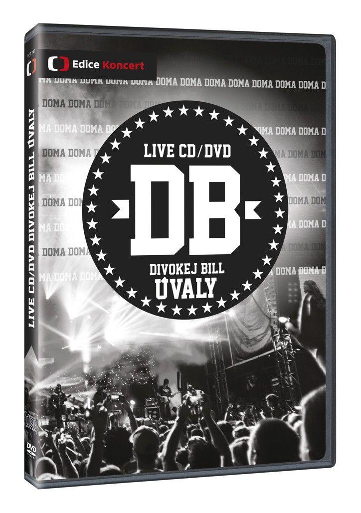 Divokej Bill - koncert Úvaly DVD + CD (DVD + CD)
