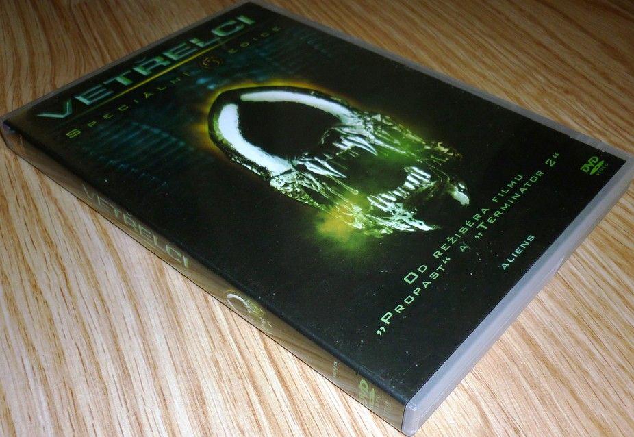 Vetřelec 2 (Vetřelci) 1DVD SPECIÁLNÍ LIMITOVANÁ EDICE (DVD) (Bazar)
