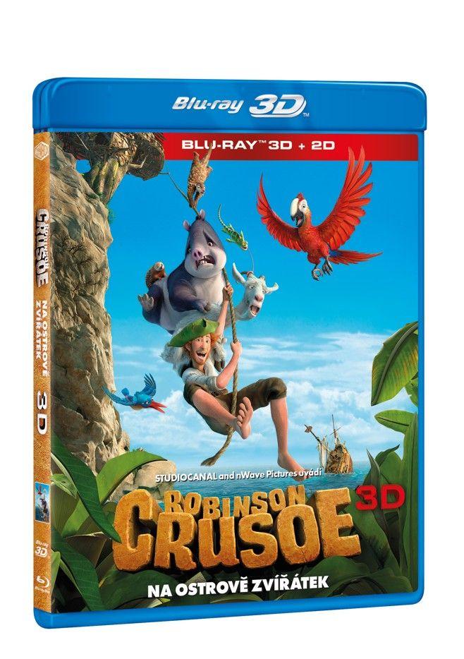 Robinson Crusoe: Na ostrově zvířátek 3D + 2D (Bluray)