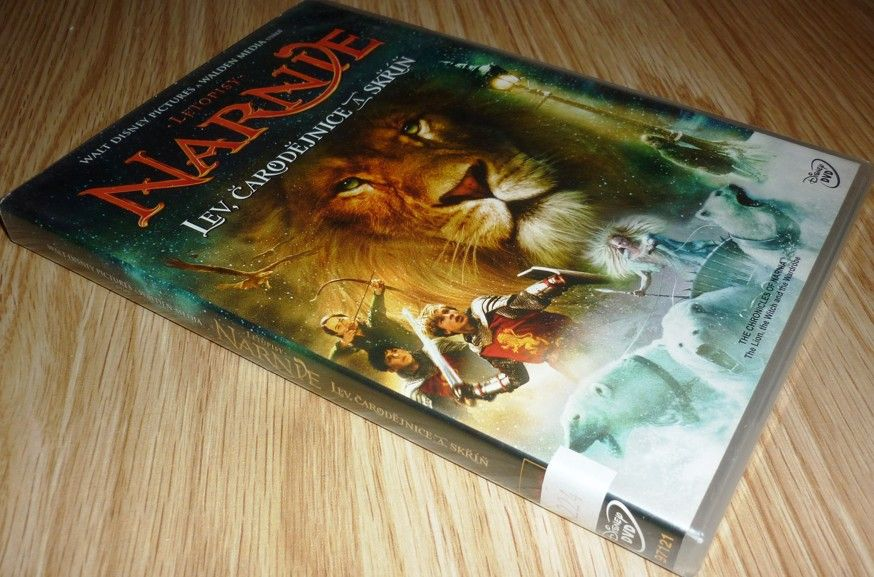 Letopisy Narnie: Lev, čarodějnice a skříň (1. díl) (DVD) (Bazar)