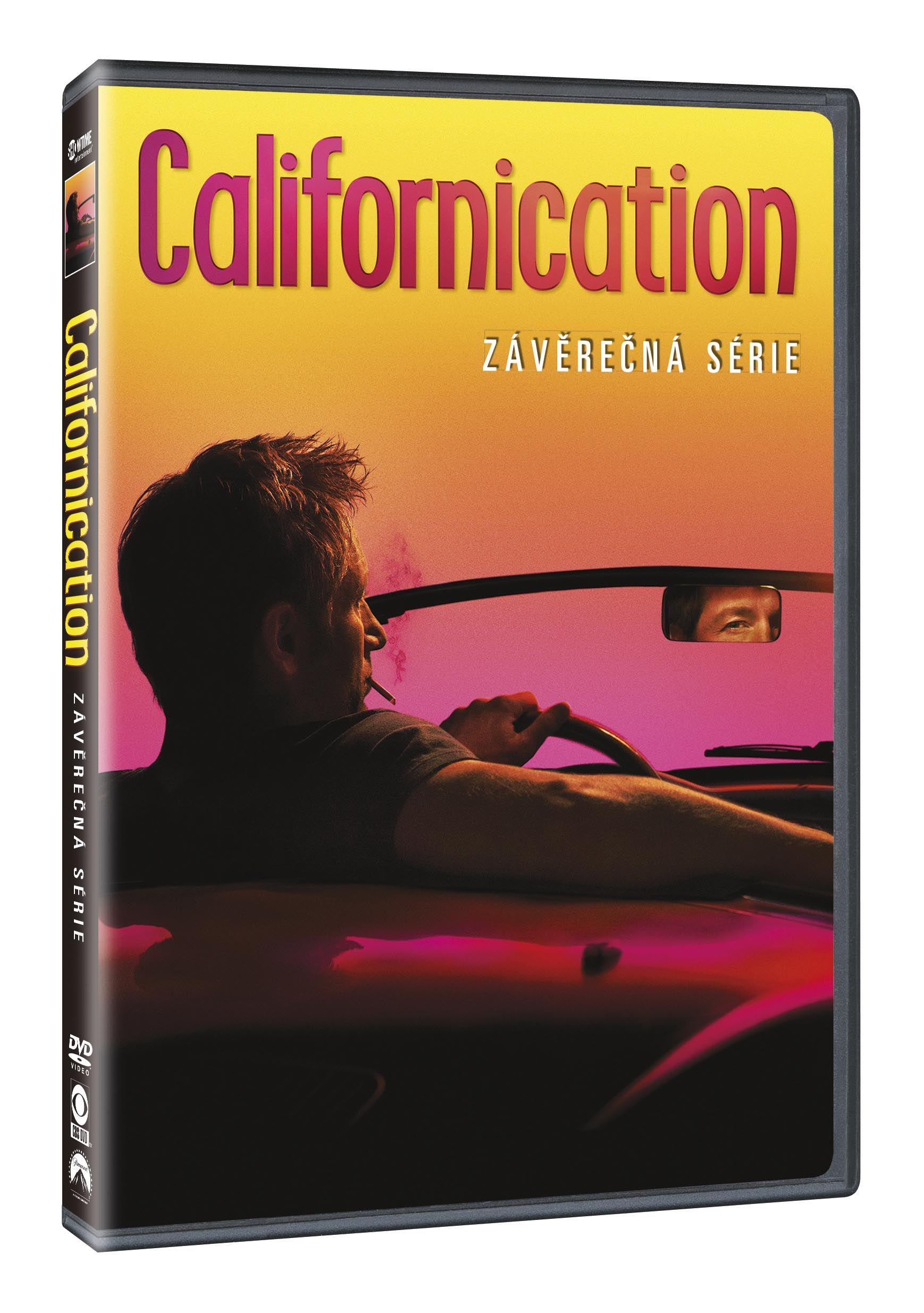 Californication 7. série: Závěrečná série 2DVD (DVD)