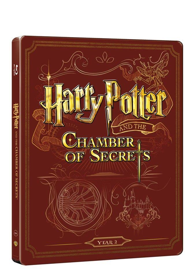 Harry Potter a tajemná komnata (BD + DVD bonus) - steelbook (Bluray)