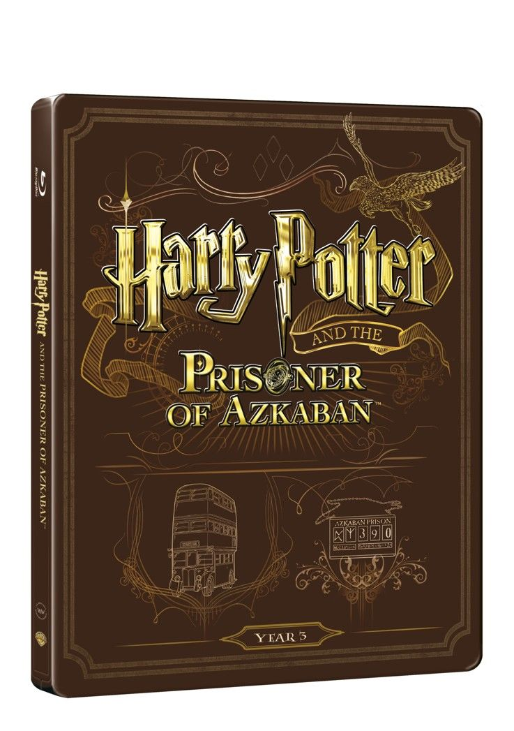 Harry Potter a vězeň z Azkabanu (BD + DVD bonus) - steelbook (Bluray)