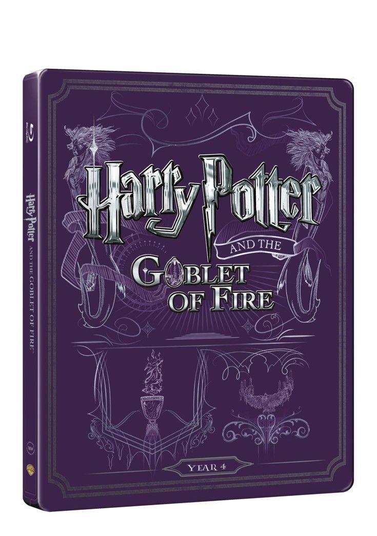 Harry Potter a ohnivý pohár (BD + DVD bonus) - steelbook (Bluray)