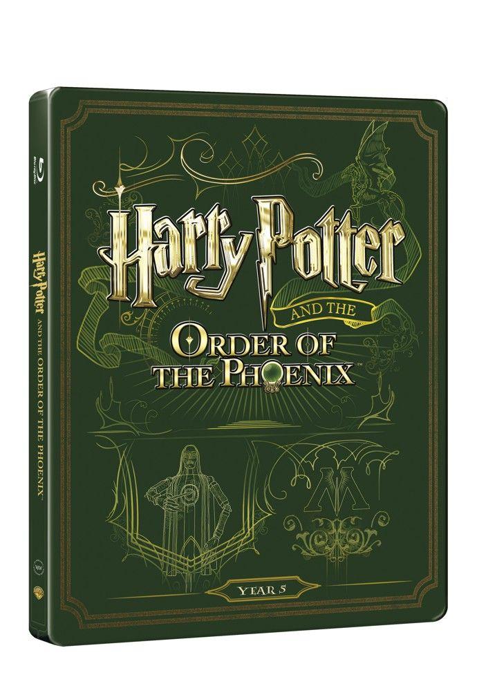 Harry Potter a Fénixův řád (BD + DVD bonus) - steelbook (Bluray)
