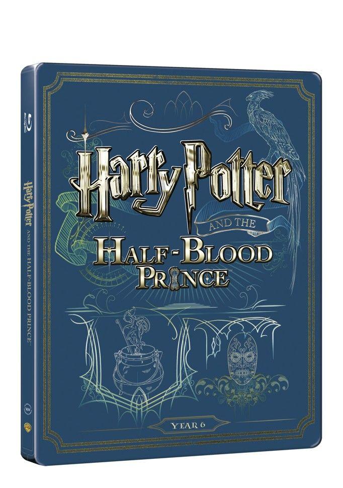 Harry Potter a princ dvojí krve (BD + DVD bonus) - steelbook (Bluray)