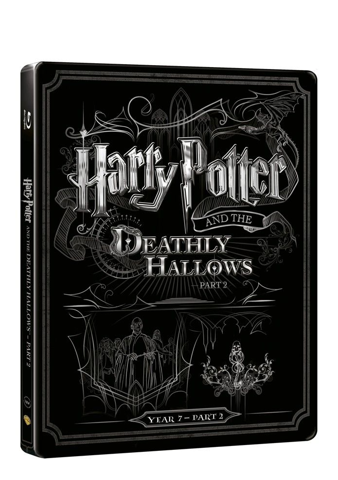 Harry Potter a Relikvie smrti - část 2. (BD + DVD bonus) - steelbook (Bluray)