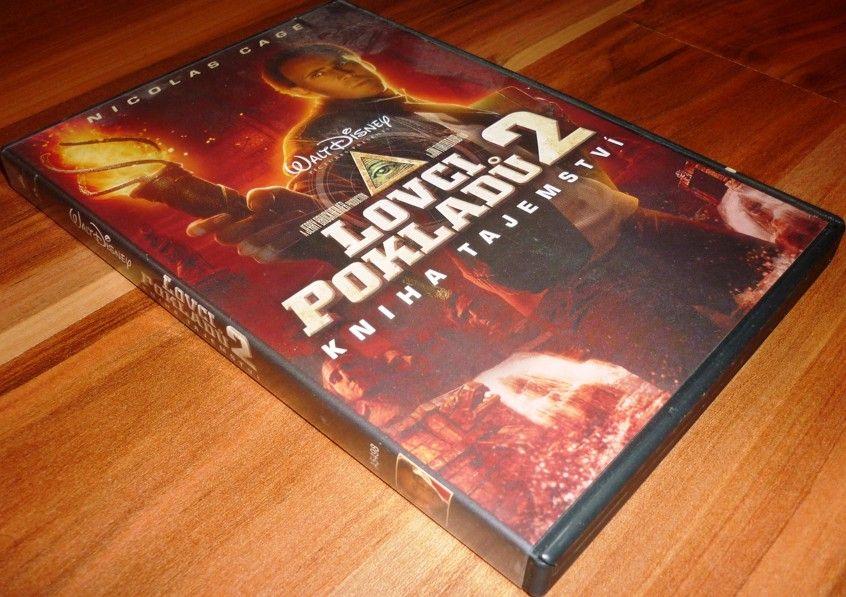 Lovci pokladů 2: Kniha tajemství (DVD) (Bazar)