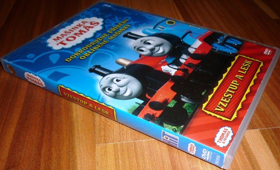 Lokomotiva Tomáš: Vzestup a lesk (Mašinka Tomáš) (DVD) (Bazar)