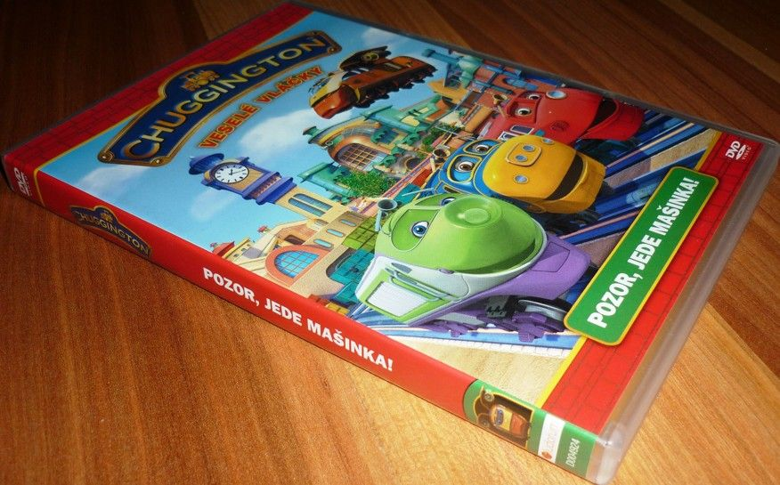 Chuggington - Veselé vláčky 2 - Pozor, jede mašinka! (DVD) (Bazar)