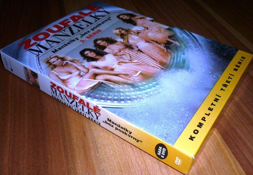 Zoufalé manželky 3.série 6DVD (DVD) (Bazar)