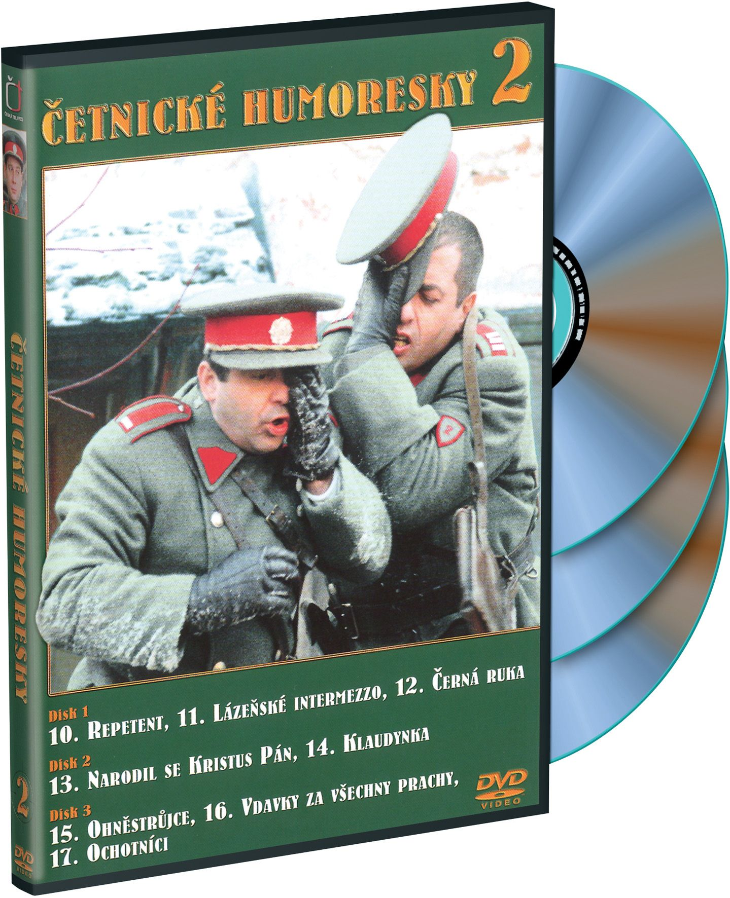 Četnické humoresky 2 3DVD (DVD)