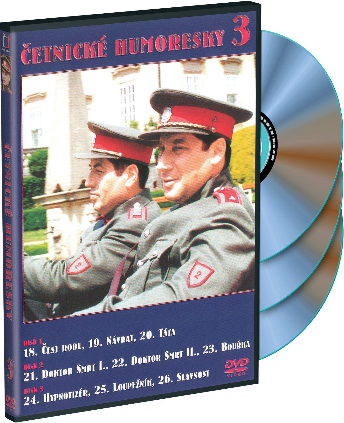 Četnické humoresky 3 3DVD (DVD)