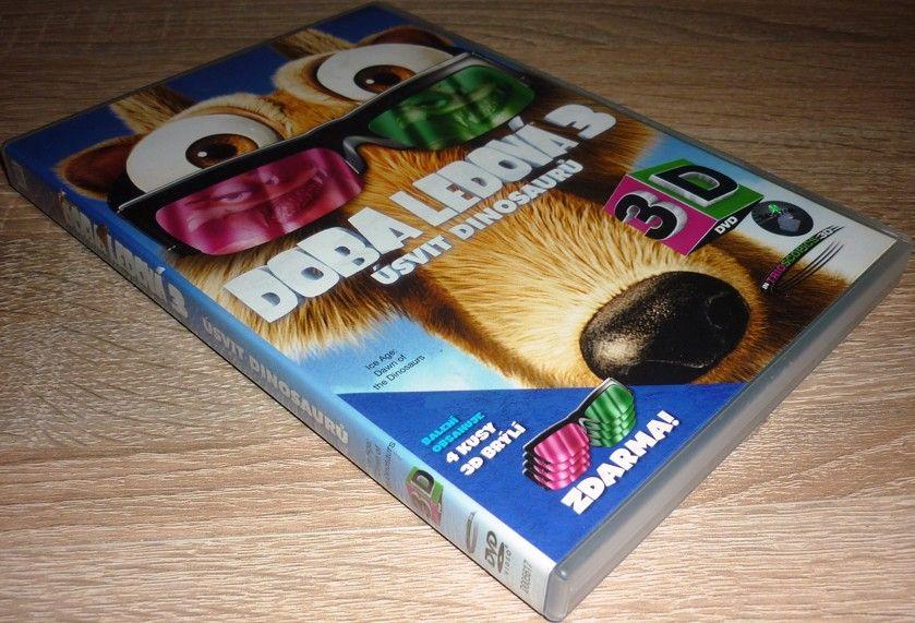 Doba ledová 3: Úsvit dinosaurů 3D verze (DVD) (Bazar)