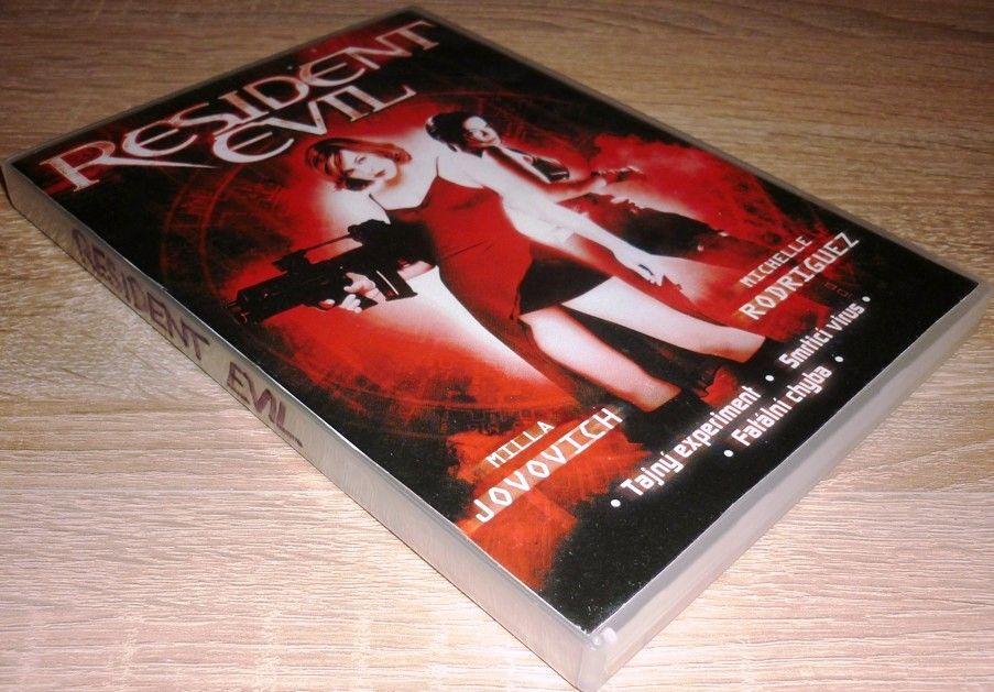 Resident Evil 1 - Edice deník Sport (DVD) (Bazar)