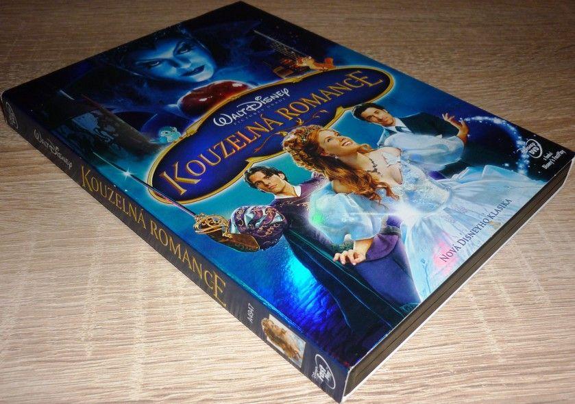 Kouzelná romance - o-ring (Disney) (DVD) (Bazar)