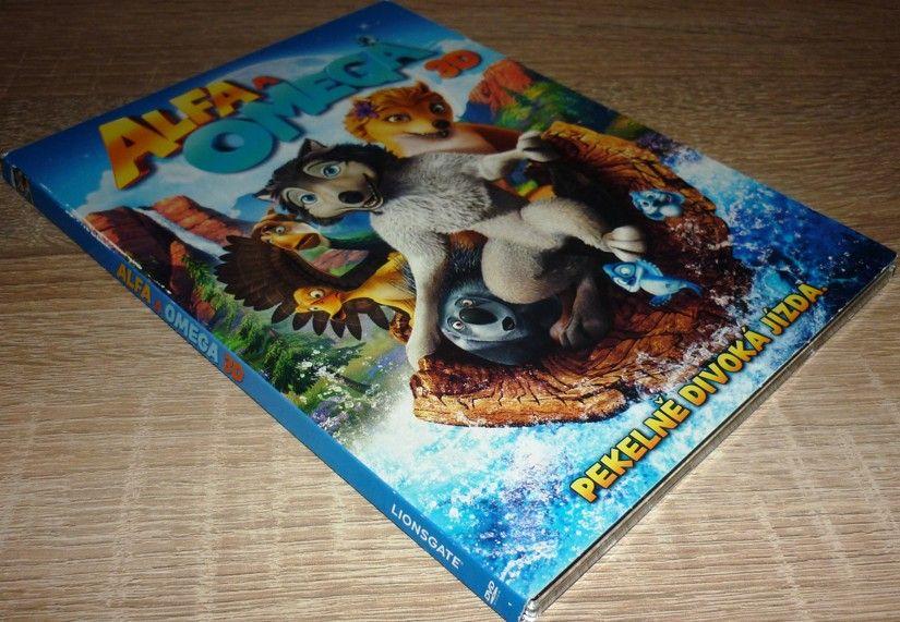 Alfa a Omega 3D (DVD) (Bazar)
