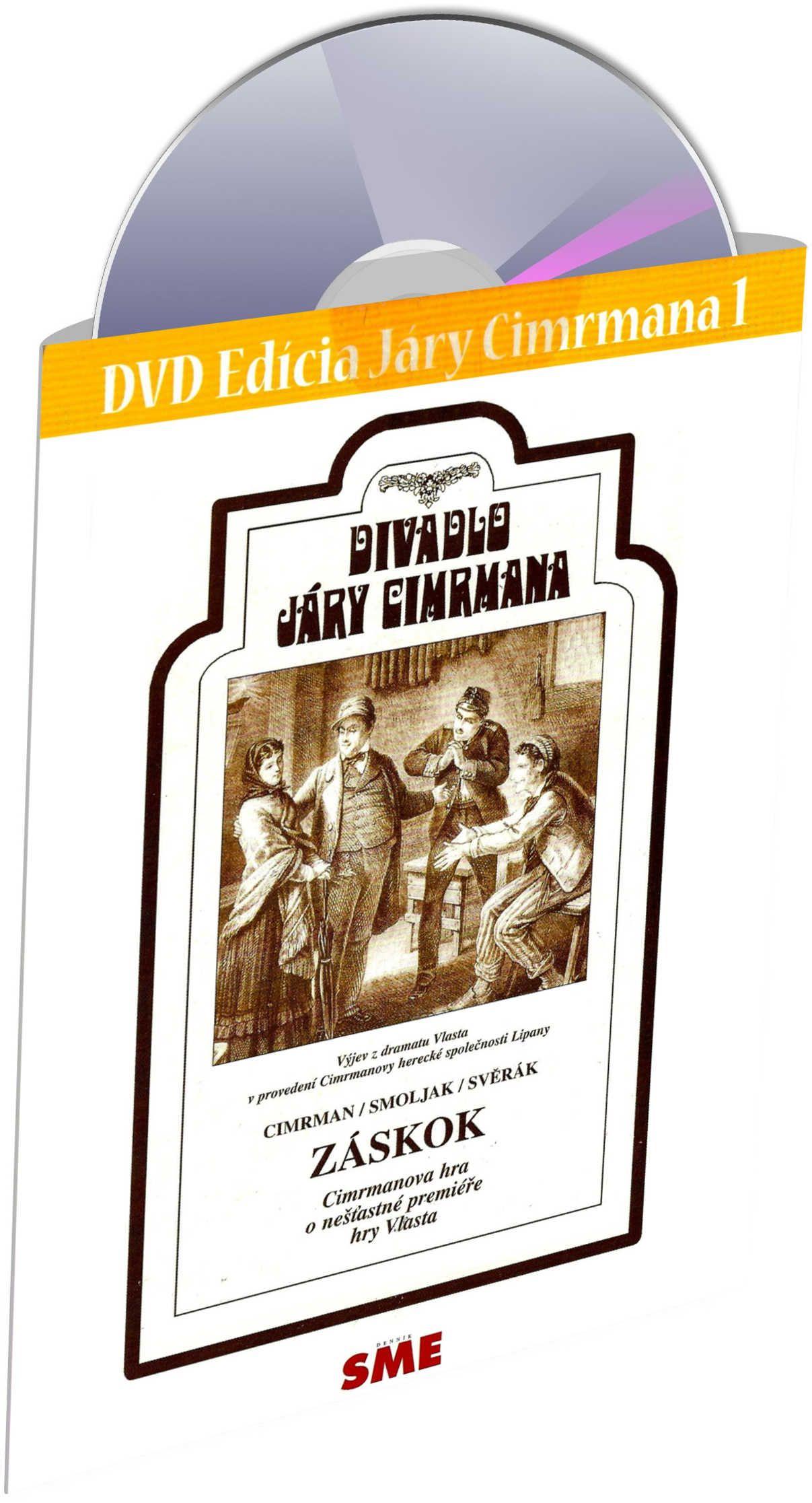 Divadlo Járy Cimrmana DVD1 - Záskok - Edice Denník SME (DVD)