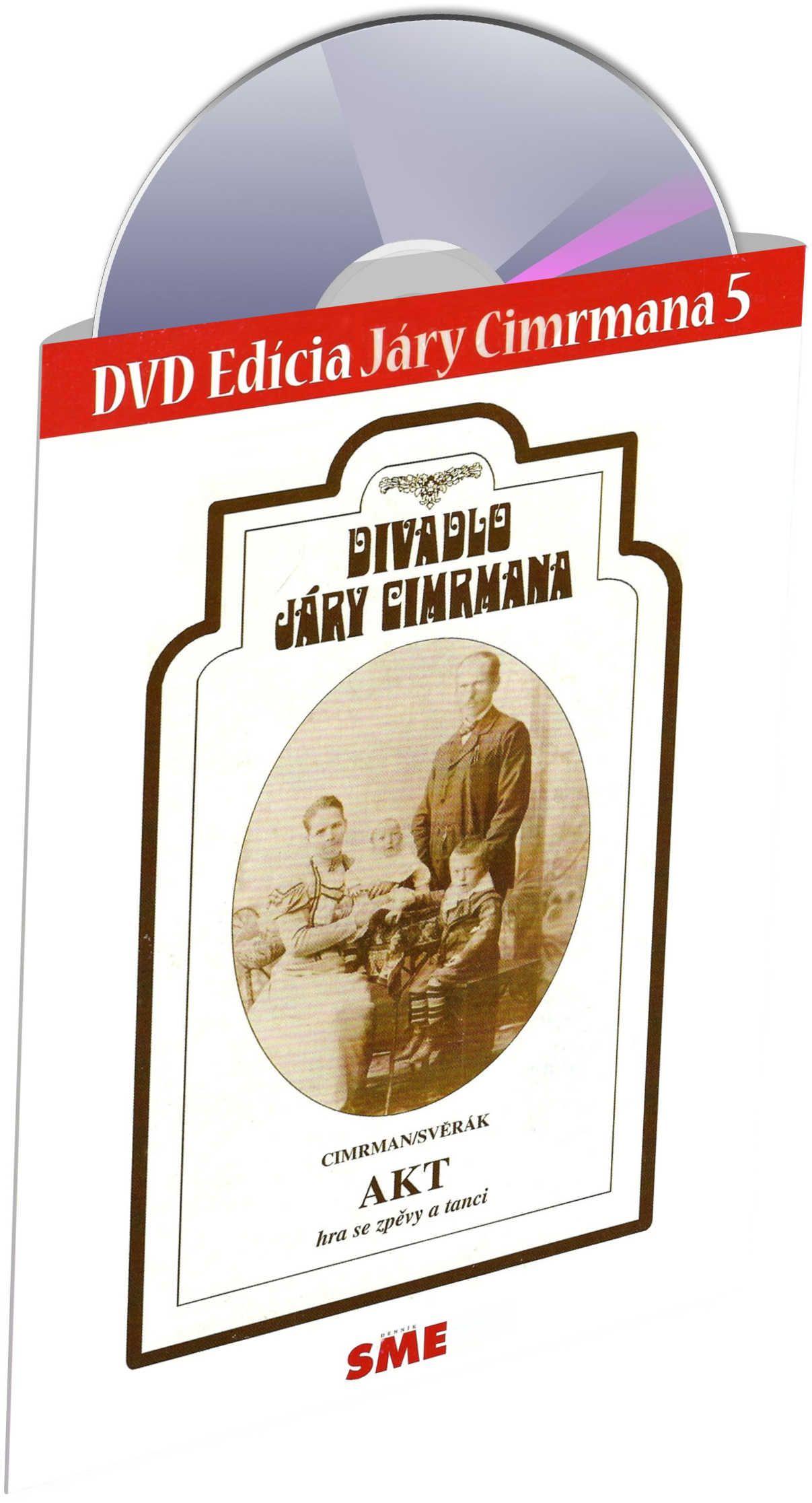 Divadlo Járy Cimrmana DVD5 - Akt - Edice Denník SME (DVD)
