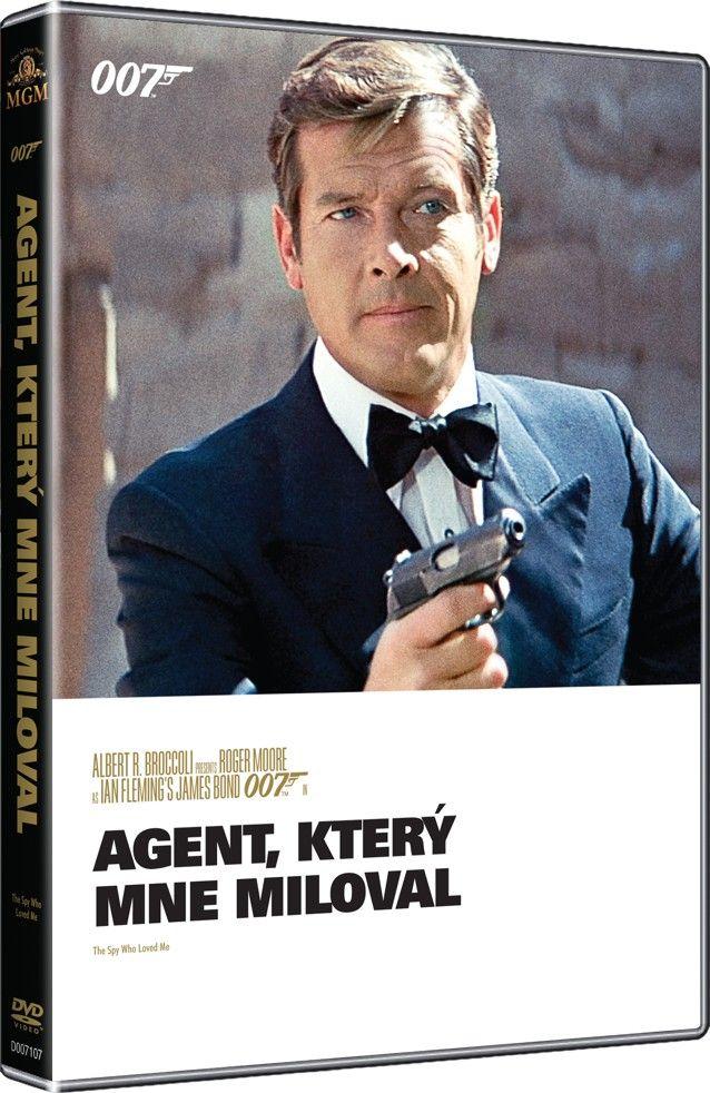 Agent, který mne miloval (Špion, který mne miloval) (James Bond 007 - 010) - kolekce 2015 (DVD)