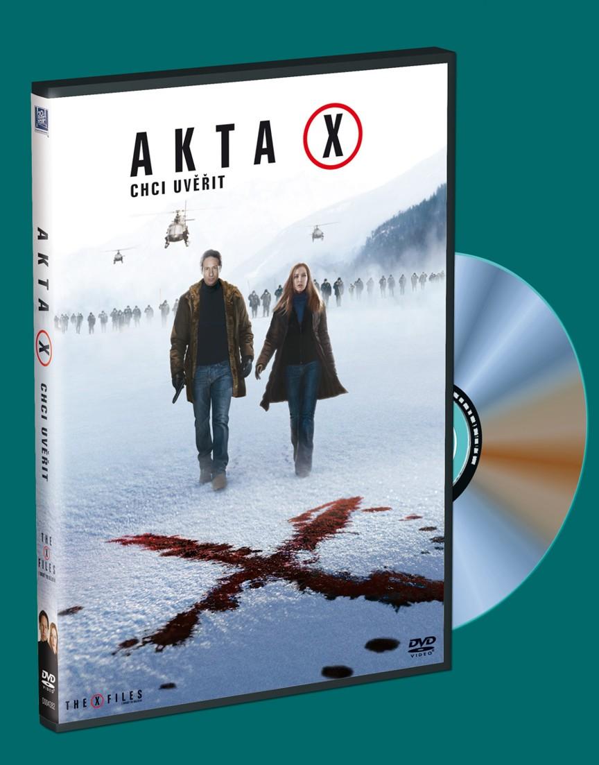 Akta X: Chci uvěřit - edice Hollywoodské hvězdy č. 9 (DVD)