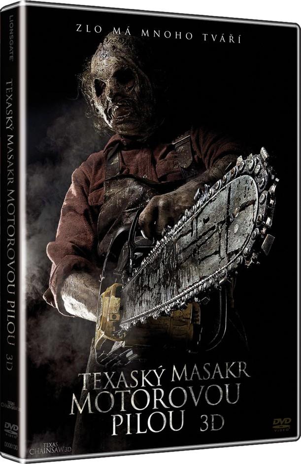 Texaský masakr motorovou pilou 3D (2013) (DVD)
