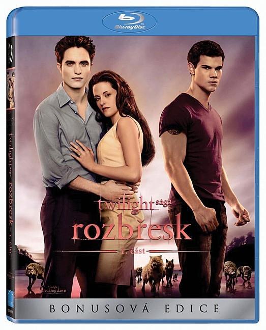 Twilight sága 4: Rozbřesk 1. část (4. díl) (Bluray)