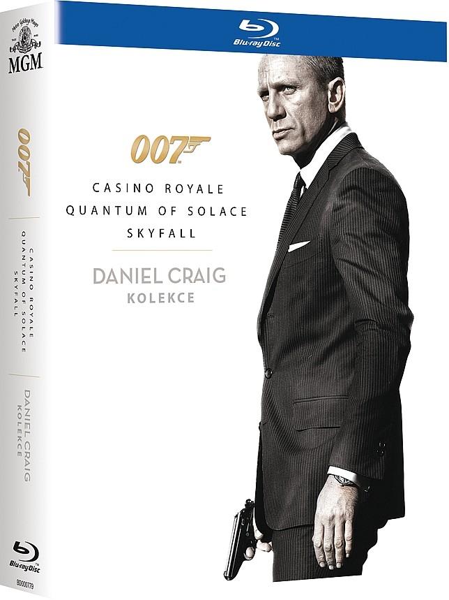Daniel Craig - James Bond kolekce - 3BD (Casino Royale, Quantum of Solace, Skyfall) (Bluray)