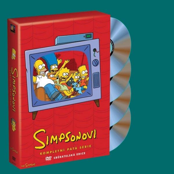 Simpsonovi 05. série 4DVD (DVD)