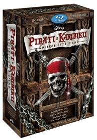 Kolekce Piráti z Karibiku 1 - 4 4BD (Disney) (Bluray)